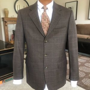 Andrew Fezza Signature Collection Wool Coat 38R